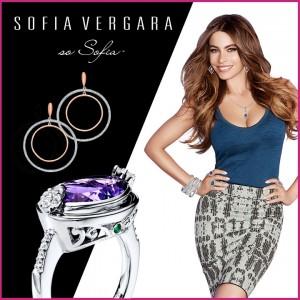 La actriz Sofía Vergara se asocia con Kay® Jewelers para lanzar una colección de joyería que es… so Sofía