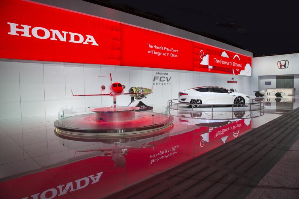 Honda Kicks Off Year Of Honda Innovations At 2015 North
